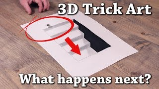 Easy 3D Drawing Illusions to Test Your Brain!