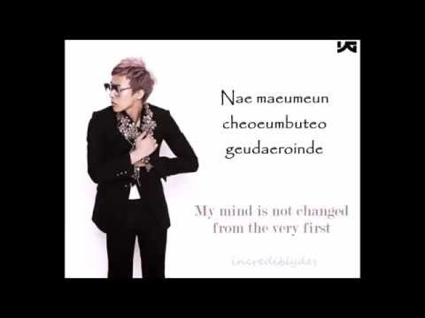 GDragon -  결국 Eventually (eng/rom lyrics)