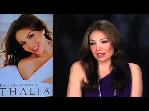Entrevista de Thalia en AOL Latino [Part 1]