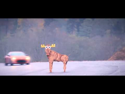 Toyota GT 86 fails moose test