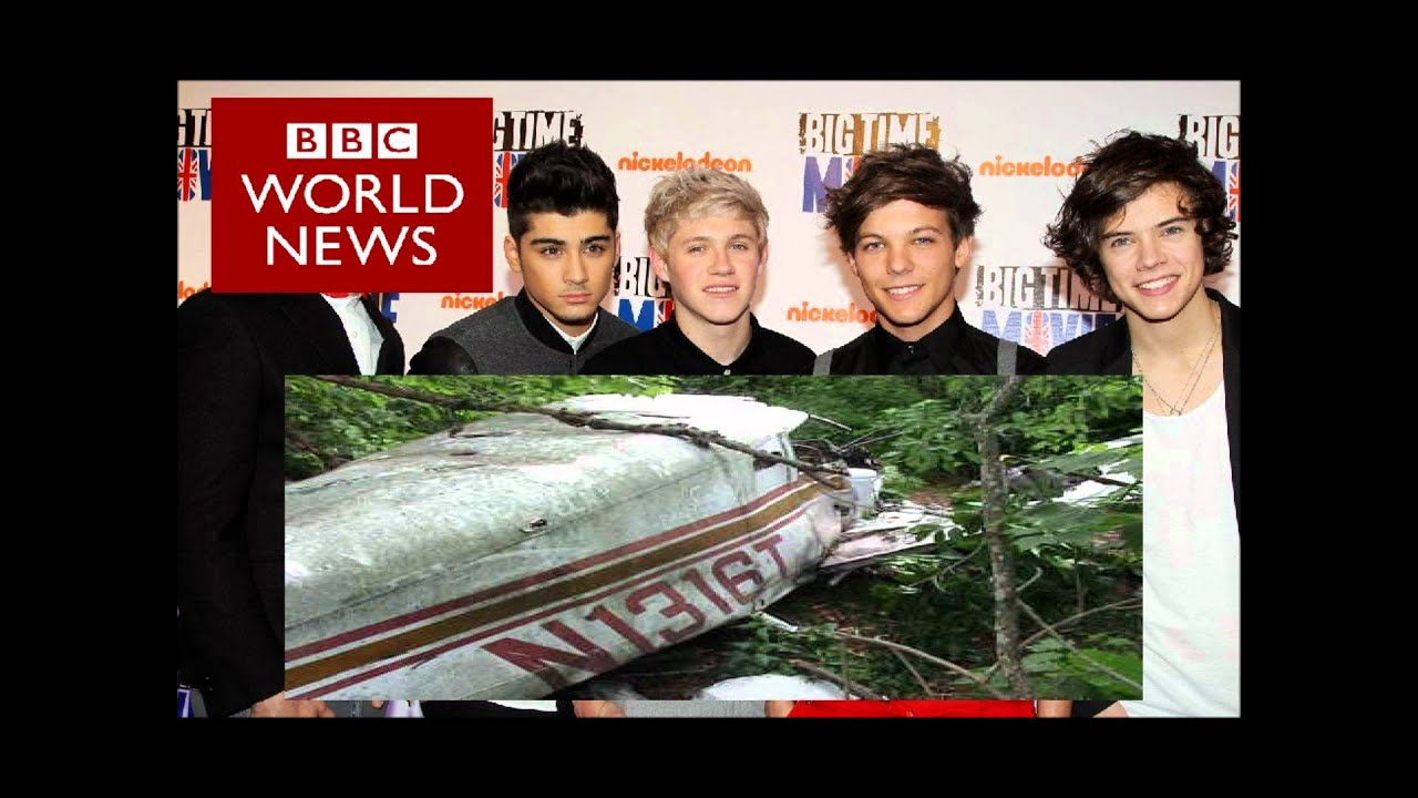 One Direction Dead Plane Crash