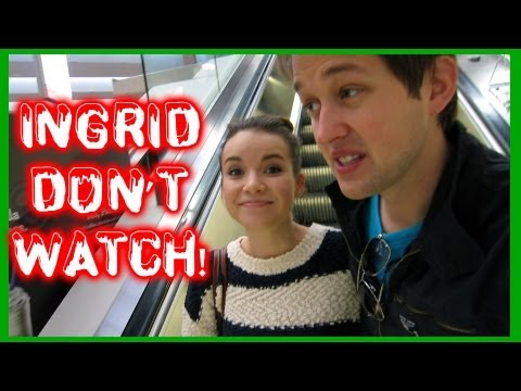 Vlogmas 2012 - INGRID DO NOT WATCH THIS! - Day 16