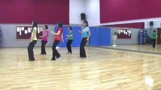 Blurred Lines Line Dance (Dance & Teach In English