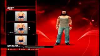 WWE 2K14 How To Make Luke Harper