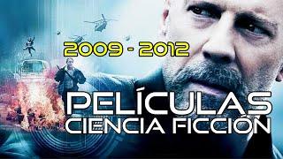 Películas De Ciencia Ficción (2009-2012)