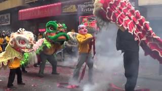 Philadelphia Chinatown Chinese New Year 2014 Lion Dance