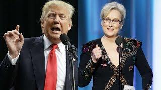 Trump attacks Meryl Streep after Golden Globes speech