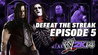 WWE 2K14 The Undertaker Defeat The Streak Episode 5: Sting