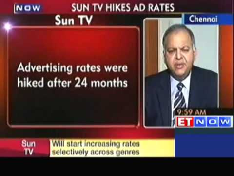 Sun TV Network Revises Ad Rates After 24 Months