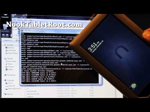 How to Root Nook Tablet and Install Google Android Market!
