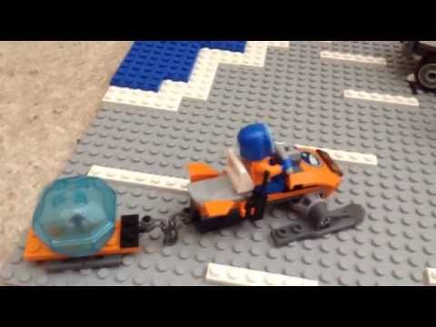Custom Lego Arctic land