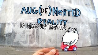Aug(de)mented Reality: Talkies