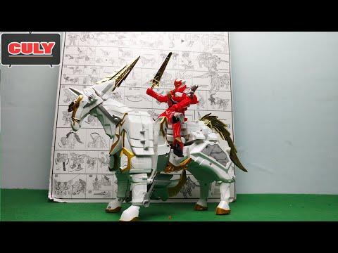 Siêu nhân phép thuật kị mã robot Saint Kaiser Mahou Sentai Magiranger đồ chơi  horse toy
