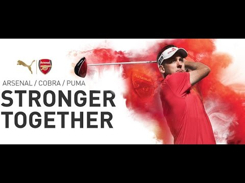 IAN POULTER GETS AN 'ARSENAL' SEND OFF AHEAD OF THE OPEN