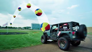 High Speed Sports Battle | Dude Perfect