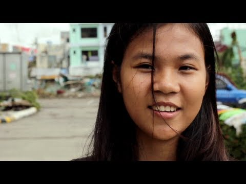 Lian Fernandez, 17, looks to rebuild her life -- and return to school -- after Typhoon Haiyan