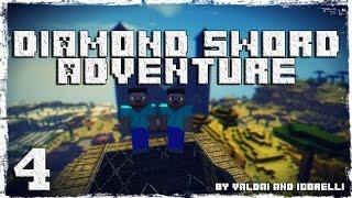 [Coop] Minecraft Diamond Sword Adventure. #4: Старые руины.