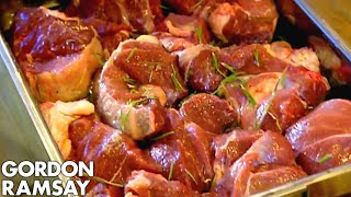How To Cook A Sunday Roast, French Style - Gordon Ramsay