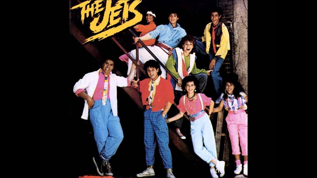 The Jets - Crush On You (Lyrics) - YouTube