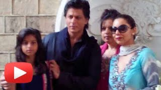 Shahrukh Khan Eid Celebration At Mannat With Family 2013 -Uncut Visuals
