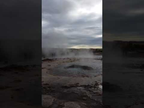 The Great Geysir of Iceland