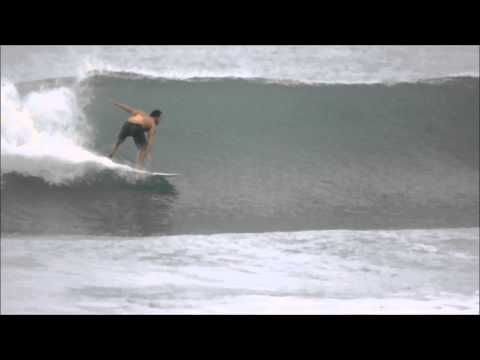 July 07 2014 Surfing Playa Hermosa Costa Rica
