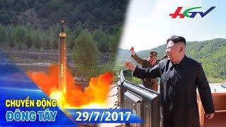 Triều Tiên thử thành công tên lửa đạn đạo Hwasong-14 | CHUYỂN ĐỘNG ĐÔNG TÂY - 29/7/2017