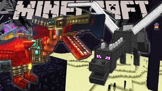 Minecraft: Zoo Keeper Wyvern VS Ender Dragon! Ep.20