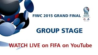 REPLAY: LIVE FIWC 2015 Grand Final - Group Stage - Duration: 3:55:24.
