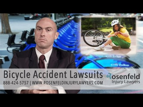 Chicago Bicycle Accident Lawsuits - Bike Injury Lawyer, Jonathan Rosenfeld