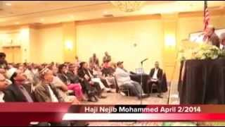 Haji Najibs speech to the Ethio Community in Las Vegas Part 2