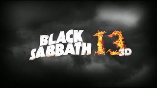 BLACK SABBATH Backstage for Halloween Horror Nights 2013