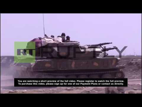 Syria: Army operation aims to thwart rebel route to capital