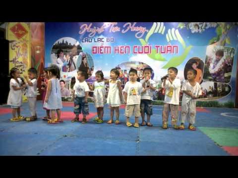 Các Em Chít Chít lớn Đọc Thơ góp vui trong chương trình  Điểm Hẹn Cuối Tuần
