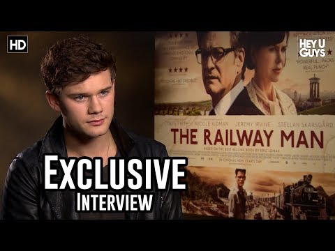 Jeremy Irvine Interview - the Railway Man