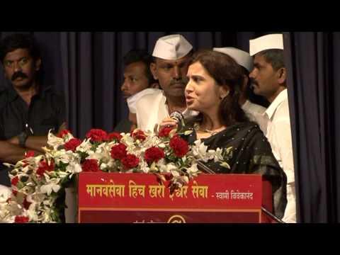 Preeti Sompura Speech Mumbai Dabbawala@125