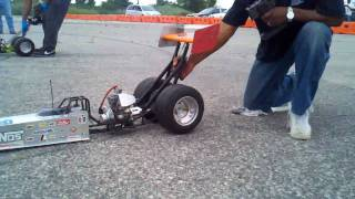 1/4 Scale Dragster Race