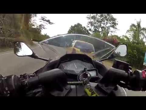 Kawasaki Ninja 300 hacia Santa Fe de Antioquia