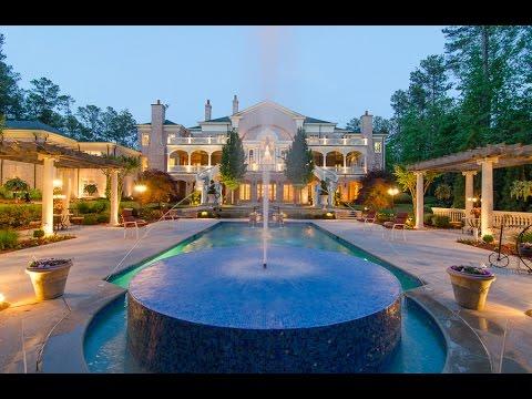 Estate Of Grace Luxury Mansion In Atlanta Ga 11235