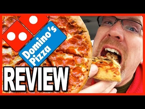"Domino's Pizza Review ""What's Ken's favourite 2 toppings?"" ALL comments are in the video!"