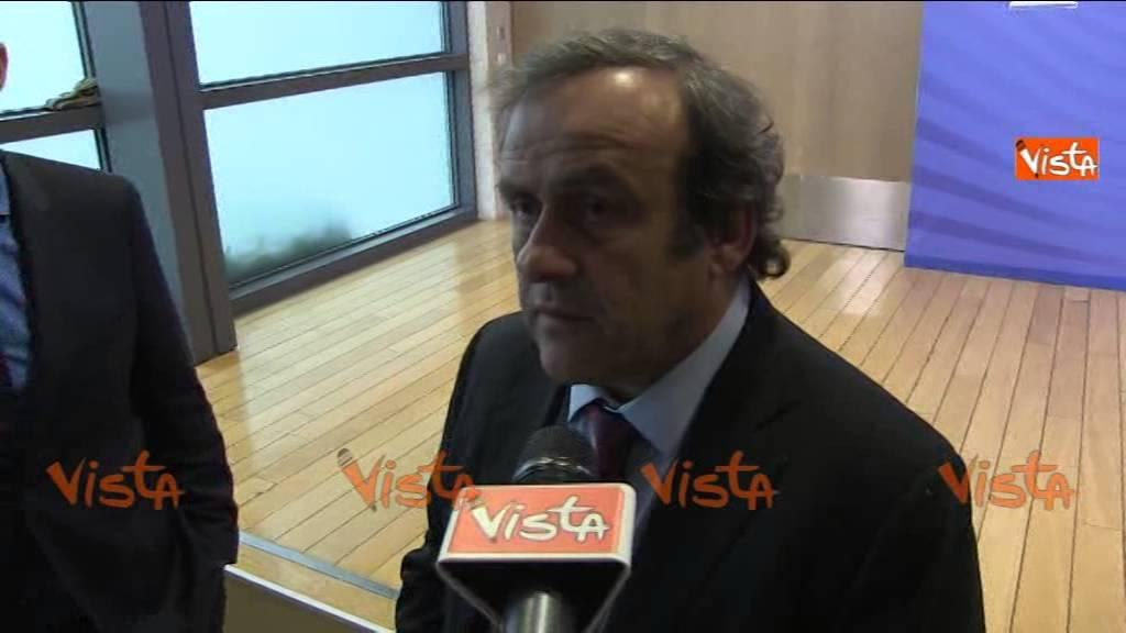 BRUXELLES PLATINI SU ROMA JUVE CHI VINCE VIENE SEMPRE ACCUSATO 14-10-14