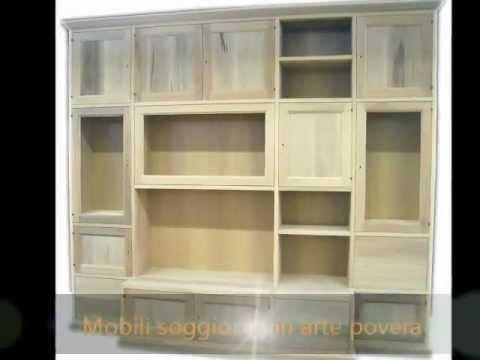 Librerie pareti attrezzate mobili ufficio soggiorno - Mobili soggiorno arte povera ...