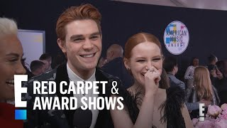 "KJ Apa & Madelaine Petsch Take ""Riverdale"" to the 2017 AMAs 