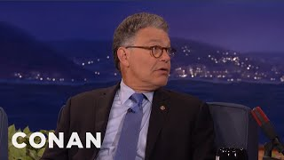 Senator Al Franken: Politics is Humorless