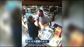 Clerk Pulls Gun on Would-Be Thief