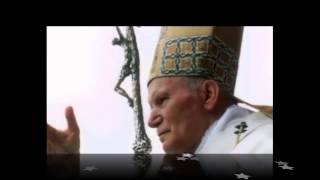 Вервиця,  молиться Святий Папа Іван Павло ІІ