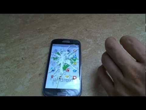 Samsung Galaxy S3 Hammer Drop Test -6dAIy4no_Qs