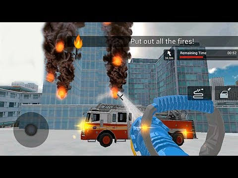 🚒 Fire Truck Games #1 - Fire Truck Driving Simulator Fun Android Games