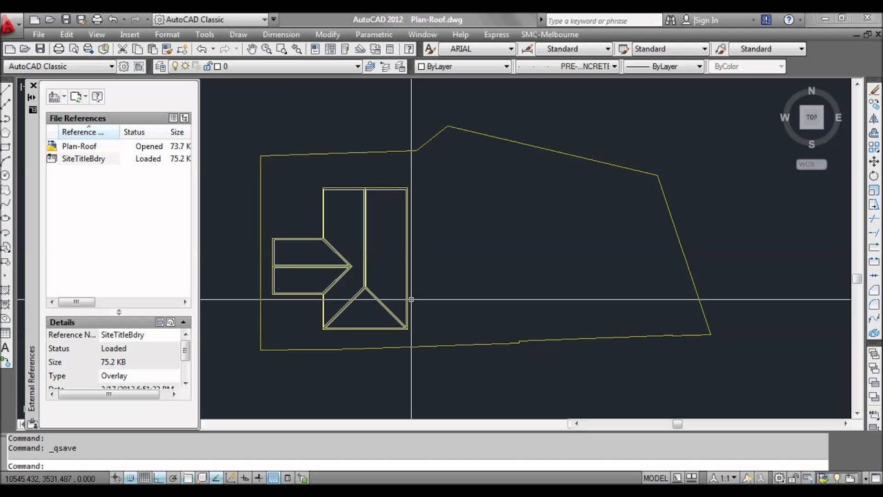 Autocad xrefs working with and understanding how to use for Fenetre xref autocad