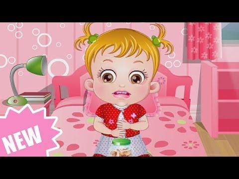 Baby Hazel Game Movie - Baby Hazel Stomach care Episode - Dora the Explorer